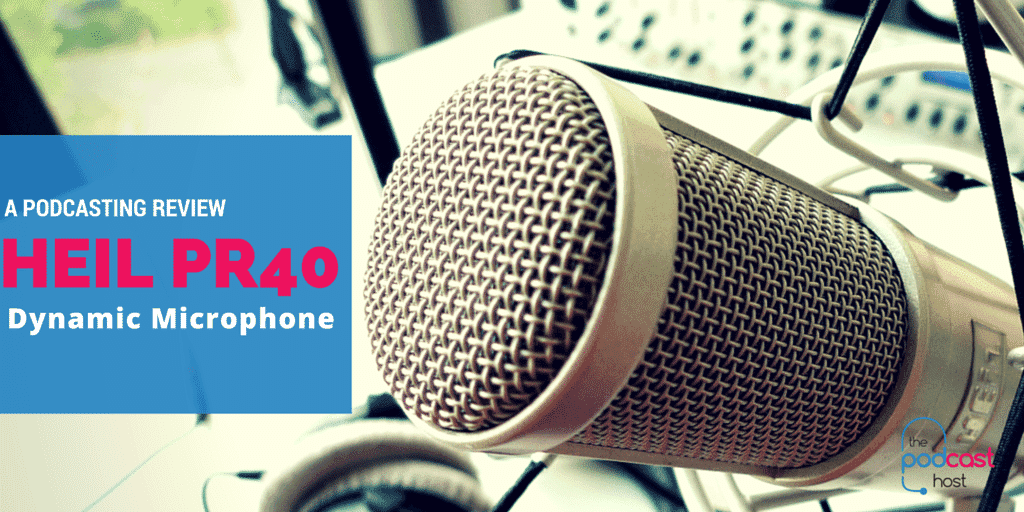 heil pr40 dynamic microphone review for podcasting. Black Bedroom Furniture Sets. Home Design Ideas