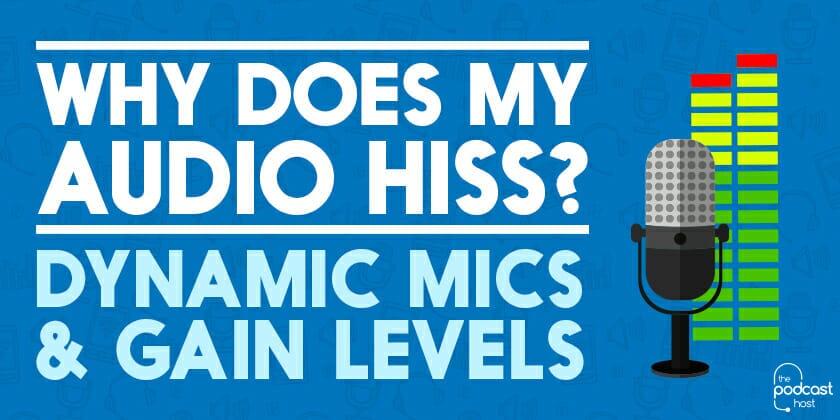 Dynamic Microphone Hiss : why does my audio hiss dynamic mics gain levels ~ Hamham.info Haus und Dekorationen